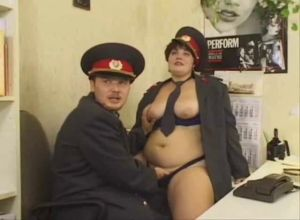 Русское порно с милицией