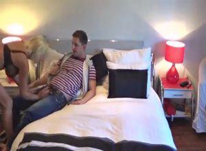 Скрытая камера видео порно в гостинице